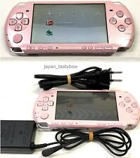 SONY PSP Playstation Portable Blossom Pink PSP - 3000 ZP Cable Console
