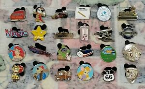 Disney Mystery Pin Collection Tiny Kingdom  Series 2 Edition Complete Set Of 10