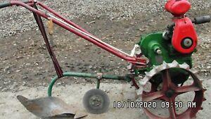 farmers boy garden plough