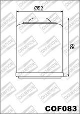 COF083 Filtro De Aceite CHAMPION Piaggio125 Beverly Rst 4T-4V es decir, 13 2014