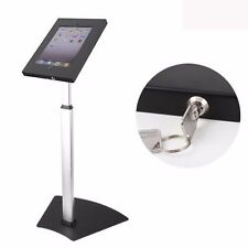 IPAD FLOOR STAND ANTI-THEFT KIOSK SECURITY WITH LOCK FITS IPAD 2 3 4 AIR