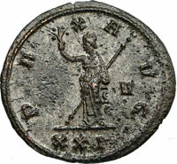 PROBUS Authentic Ancient 277AD Genuine Original Roman Coin w PAX PEACE i84691