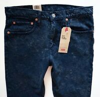 Levi's Levis Nwt Mens 512 Slim Taper Indigo Berry Wash Stretch 288330233 Jeans
