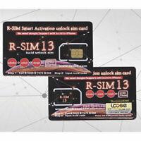 HOT! RSIM 13 R-SIM Nano Unlock Card for iPhone Xs/8/7/6/6S 4G LTE iOS 10 11 12