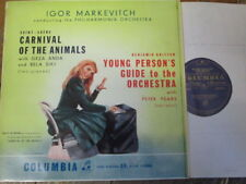33CX 1175 Saint-Saens Carnival of the Animals etc / Anda / Siki / Markevitch B/G