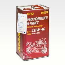 4 (1x4) Liter MANNOL 7812 Motorbike 4-Takt API SL Motoradöl