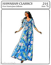 Victoria Jones Loose-fit, Pullover Muumuu Dress Petite-XL Sewing Pattern 215