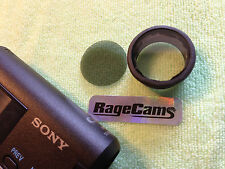 LENS CAP FILM THROUGH CLEAR GLASS+CP FILTER for Sony HDR-AS100v AS200 HD CAMERA