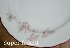 1 Kuchenteller 19 cm Seltmann Weiden  JULIA Laks/rosa   Rand