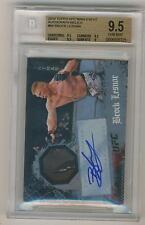 Brock Lesnar 2010 Topps UFC Main Event Autograph / Relic BGS 9.5 GEM MINT