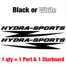 """Set of 2 HYDRA SPORTS Decal stickers  11.25""""w.... Buy qty2 get a 3rd set FREE"""