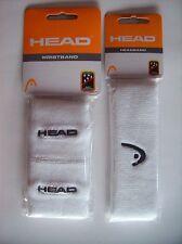 Head Headband Wristband Set Athletic Sport Team Mens Womens White  Size Misc NIP