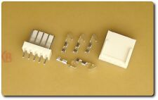 5x 5 Posiciones Traba Con Pin Header + Crimp Terminal + Carcasa Kit