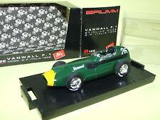 VANWALL F1 MOSS G.P. D'ITALIE 1958 BRUMM R199