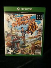 Xbox One SUNSET OVERDRIVE Day One complete