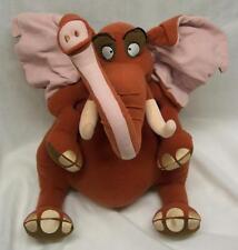 "Walt Disney Tarzan TANTOR THE ELEPHANT 14"" Plush STUFFED ANIMAL Toy"