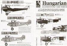 Blue Rider 1/72 Clandestine Hungarian Air Force 1919-1934 # 223