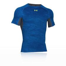 Abbiglimento sportivo da uomo maglie blu in poliammide