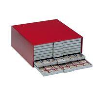 SAFE 6200 BEBA Münzen-Kasten rot Mini
