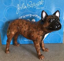 JOHN BESWICK DOG FRENCH BULLDOG  MODEL No. JBPP1BR  BRINDLE GLOSS PERFECT BOXED
