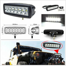 18W Off-Road Driving Fog Work 6 Cree LED Bar Light Spot Lamp For Boat Truck
