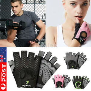 Women Fitness Gym Training Gloves Half Finger Gel Weight Lifting Workout Gloves