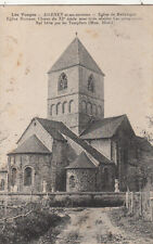 DARNEY église de relanges église romane timbrée 1922