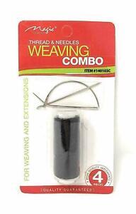 Magic Weaving Combo, BLACK THREAD L-C- STRAIGHT NEEDLE-DURABLE- BEST PRICE