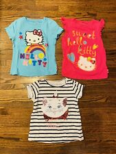 Disney And Hello Kitty Girls Clothing Lot Size 5 Three Pieces