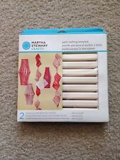 New Small MARTHA STEWART CRAFTS PARTY CRAFTING TEMPLATE Chinese Lanterns Paper