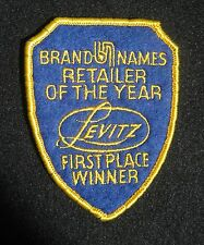 LEVITZ FURNITURE SEW ON ONLY PATCH ADVERTISING CHAIN STORE UNIFORM RETAILER