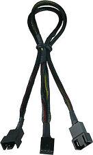 Gelid Solutions Pwm Y Ventilador Splitter Cable, conecte dos 2 Pwm ventiladores a uno de 1 socket