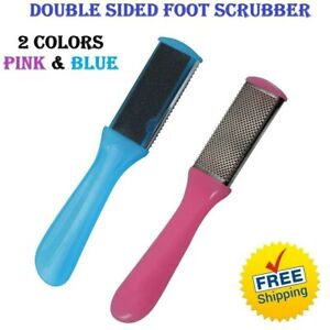 DOUBLE SIDED FOOT FILE PEDICURE RASP SCRUBBER CLEANER DEAD SKIN CALLUS REMOVER