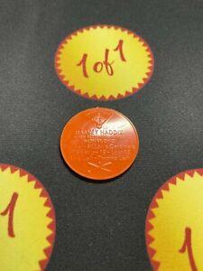 1960 Armour Hot Dog Coin Harvey Haddix Orange St. Louis Cardinals GF4