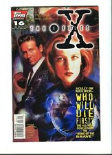 X-Files ,The (TV)  16 . Topps . 1996 - VF