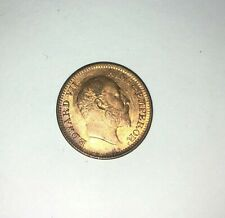 1909 1/2 pice coin from British India