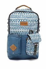 "NEW DAKINE MOD 23 LITER BACKPACK WITH 15"" LAPTOP SLEEVE MAKO BLUE MULTI"