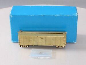 Pecos River Brass 2102 HO BRASS Santa FE BX-6 Boxcar - Unpainted EX/Box