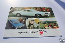Auto Brochure - Plymouth - Barracuda - 1967 (AB325)
