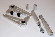 TEC Universal Silver Alloy Rearset Kit - TZ RG RD Triton Norton BSA Moto Guzzi