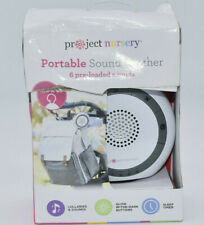 Project Nursery Portable Sound Soother, White & Gray
