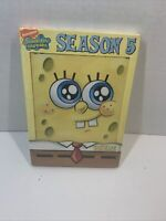 Spongebob Squarepants - Season 5: Volume 1 (DVD, 2007, 2-Disc Set) New Sealed