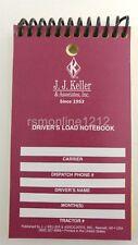 JJ Keller 6001 ( 39B ) Driver's Load Notebook - FREE Shipping