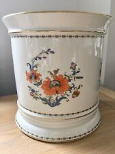 Large 9 Inch Limoges France Raynaud Planter / Wine Cooler - Vieux Chine Pattern
