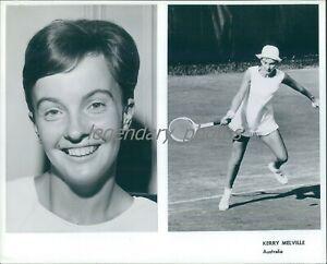 1977 Kerry Melville Austrailian Open Tennis Winner Original Press Photo