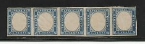 1861ITALY SARDINIA SA#15Dc NO EMBOSSED CENTER VARIETY $18225.00