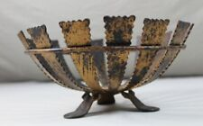 Fruit Bowl Basket from Metal - Iron? - 3 Stand - Hxo Approx. 12x26 CM 154