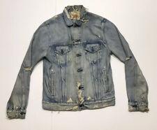 Polo Ralph Lauren Denim & Supply Distressed Denim Jacket Size Medium