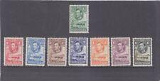 BASUTOLAND-KGVI-1938-SHORT SET-1 SHILLING-SG 18-25-M/HINGE REMAINS-$15-freepost