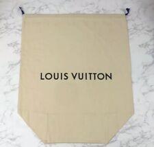 BRAND NEW Authentic Louis Vuitton XXL Luggage Drawstring Dust Bag 29 x 25 x 11.5